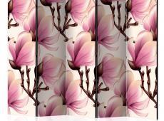 Paraván - Blooming Magnolias II [Room Dividers]
